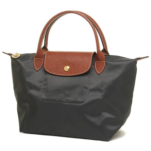 wholesale dealer 3e46d c173d ロンシャン プリアージュ ハンドバッグS 1621 089 300 レディース ガンメタル|ブランドショップ AXES