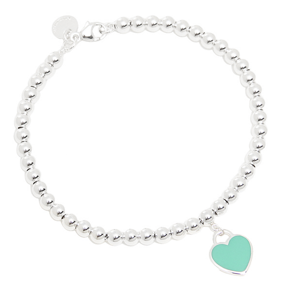 86c0be340 Tiffany bracelet accessories Lady's TIFFANY&Co. 26659604 return toe  Tiffany mini-heart tag ...
