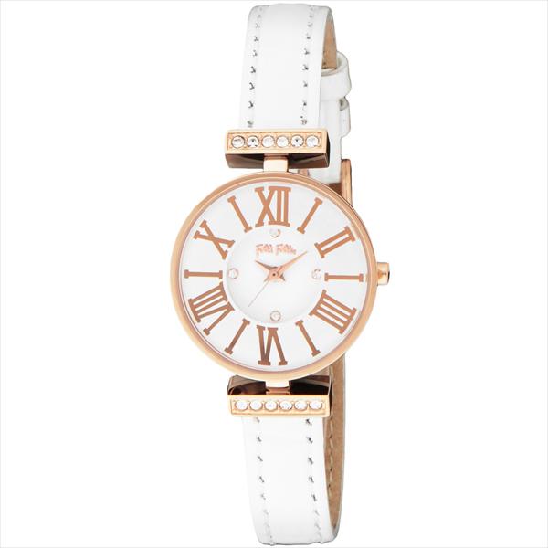 【72時間限定ポイント10倍】【返品OK】フォリフォリ FOLLI FOLLIE 時計 レディース 腕時計 フォリフォリ 腕時計 FOLLI FOLLIE WF13B014SSW-WH ホワイト/ピンクゴールド