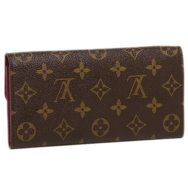 루이비통 LOUIS VUITTON장 지갑 모노그램 지갑 루이비통 LOUIS VUITTON 지갑 M60697 모노그람포르트포이유・에밀리장 지갑 퓨샤