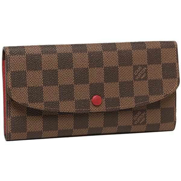 루이비통 LOUIS VUITTON장 지갑 다미에 지갑 루이비통 LOUIS VUITTON 지갑 N63544 다미에포르트포이유・에밀리장 지갑