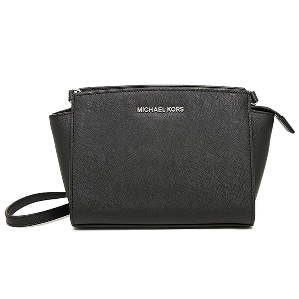 迈克尔套餐包MICHAEL KORS 30T3SLMM2L 001 SELMA MD MESSENGER挎包BLACK