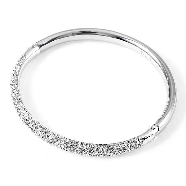 36e1a9a10 ... Swarovski bracelet ladies ' SWAROVSKI 5032846 STONE MINI CRYSTAL BANGLE  Bangle Silver / clear ...