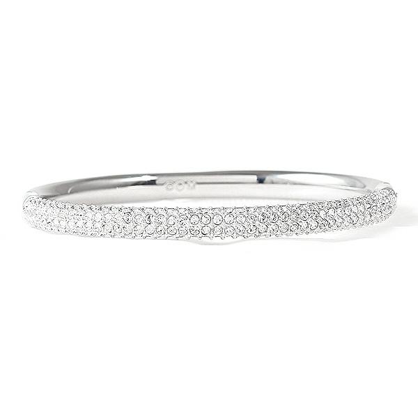 5ed90bcec ... Swarovski bracelet ladies ' SWAROVSKI 5032846 STONE MINI CRYSTAL BANGLE  Bangle Silver / clear