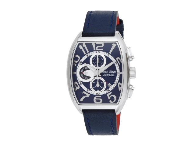 エンジェルクローバー ANGEL CLOVER 時計 腕時計 メンズ エンジェルクローバー 時計 メンズ ANGEL CLOVER DP38SNV-NV ダブルプレイ ステンレス/カーフ革/ミネラルガラス 日常生活防水 腕時計 ウォッチ ネイビー/ネイビー