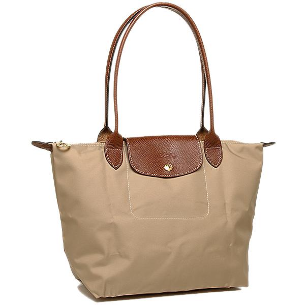 8a9c187d76 LONGCHAMP Longchamp bag tote bags Le pliage 2605 089 841 folding 841 beige  ...
