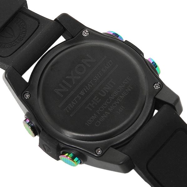 Nixon watch NIXON A197 1630 black