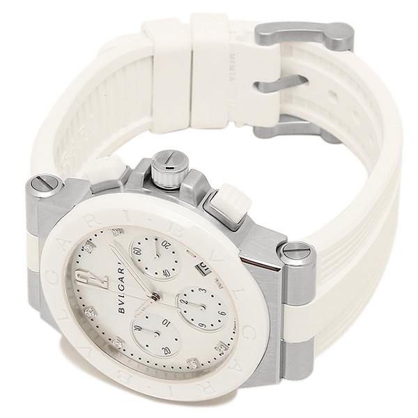 best authentic 09a4c 88134 ブルガリ BVLGARI 時計 レディース 腕時計 ブルガリ 時計 BVLGARI DG37WSCVDCH/8 ディアゴノ 腕時計 ウォッチ  ホワイト/ホワイト|ブランドショップ AXES