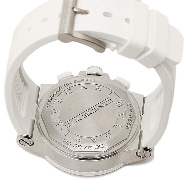 f4aab19df11f ブルガリBVLGARI時計レディース腕時計ブルガリ時計BVLGARIDG37WSCVDCH/8ディアゴノ腕時計ウォッチホワイト/ホワイト