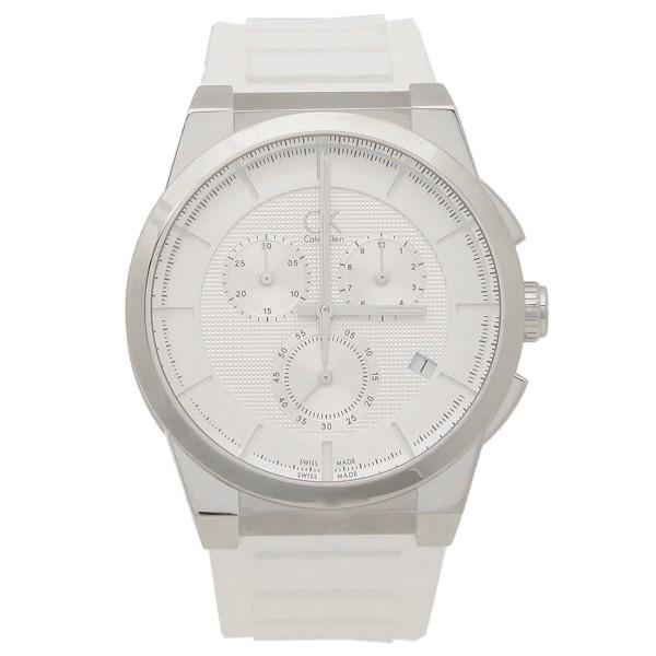 【9時間限定ポイント10倍】【返品OK】カルバンクライン 時計 メンズ CALVIN KLEIN K2S371L6 ダート 腕時計 ウォッチ ホワイト/シルバー