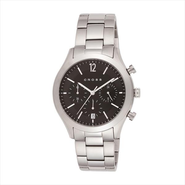 크로스 CROSS 시계 손목시계 맨즈 크로스 시계 맨즈 CROSS CR8022-11 보드니 손목시계 워치 실버/블랙