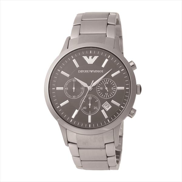 エンポリオアルマーニ EMPORIO ARMANI 時計 腕時計 メンズ エンポリオアルマーニ 時計 メンズ EMPORIO ARMANI AR2434 クラシック 腕時計 ウォッチ シルバー/ブラック