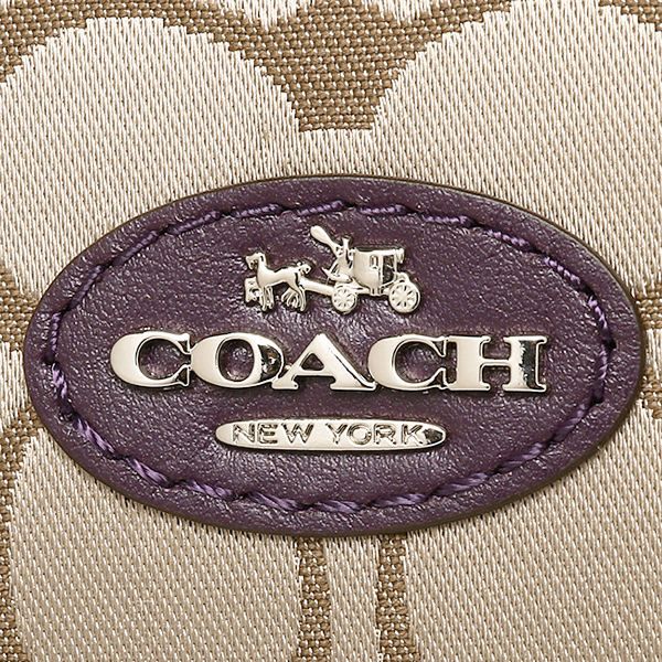 코치 가방 아울렛 COACH F33804 SVBVR 코렛트시그네챠삿체르 2 Way 밧그카키/브라운