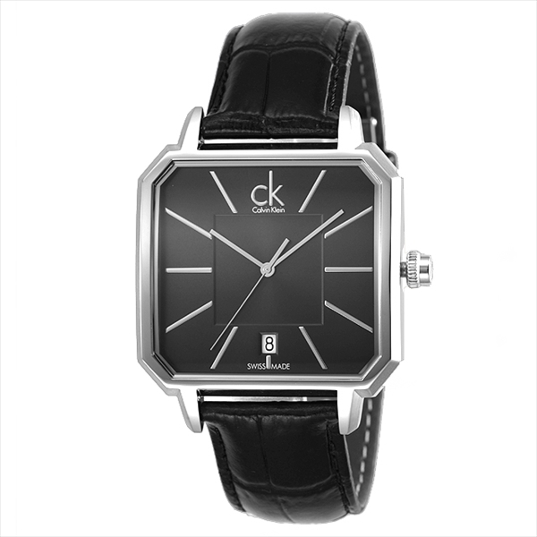 CK钟表人CALVIN KLEIN K1U211.07概念手表表黑色/黑色
