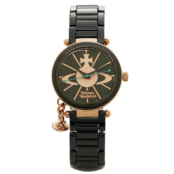 【24時間限定ポイント5倍】ヴィヴィアン 腕時計 ヴィヴィアンウエストウッド VV067RSBK ブラック