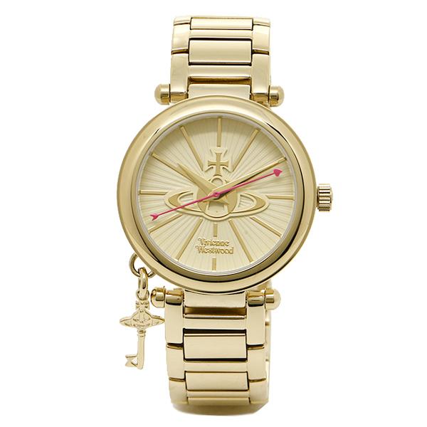 ヴィヴィアン 腕時計 ヴィヴィアンウエストウッド VV006KGD ゴールド