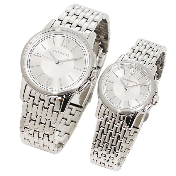 d086dd5f7086 コーチCOACH時計腕時計コーチペアウォッチ時計メンズ/レディースCOACH14000048NewClassicSignature ニュークラシックシグネチャー腕時計