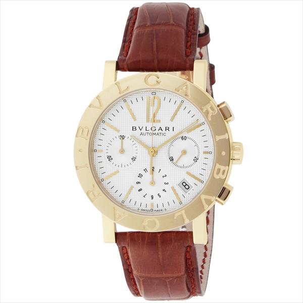 【期間限定ポイント5倍】ブルガリ BVLGARI 時計 腕時計 メンズ ブルガリ 時計 メンズ BVLGARI BB38WGLDCH ブルガリブルガリ 自動巻き 腕時計 ウォッチ ブラウン/ホワイト