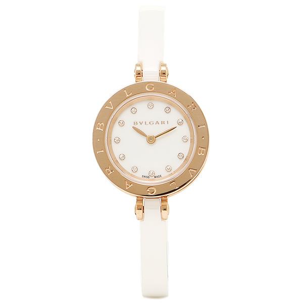 【期間限定ポイント5倍】ブルガリ BVLGARI 時計 レディース 腕時計 ブルガリ 時計 BVLGARI BZ23WSGCC/12-S B-ZERO1 ビーゼロワン 腕時計 ウォッチ ホワイト