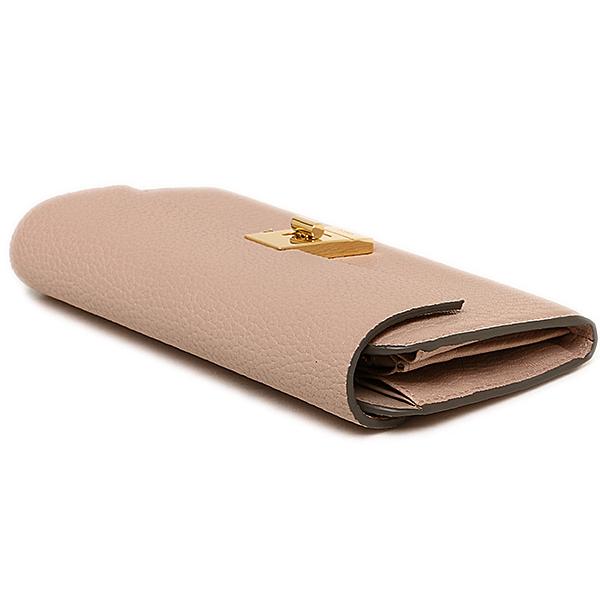 클로이 CHLOE 클로 지갑 장 지갑 지갑 CHLOE 3P0781 944 B59 DREW LONG WALLET WITH FLAP 지갑 CEMENT PINK