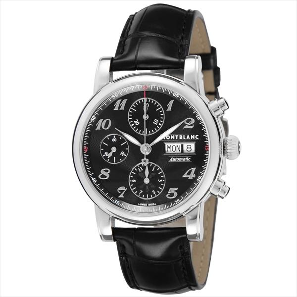 モンブラン 時計 メンズ MONTBLANC 106467 STARCHRONO 自動巻き 腕時計 ウォッチ ブラック