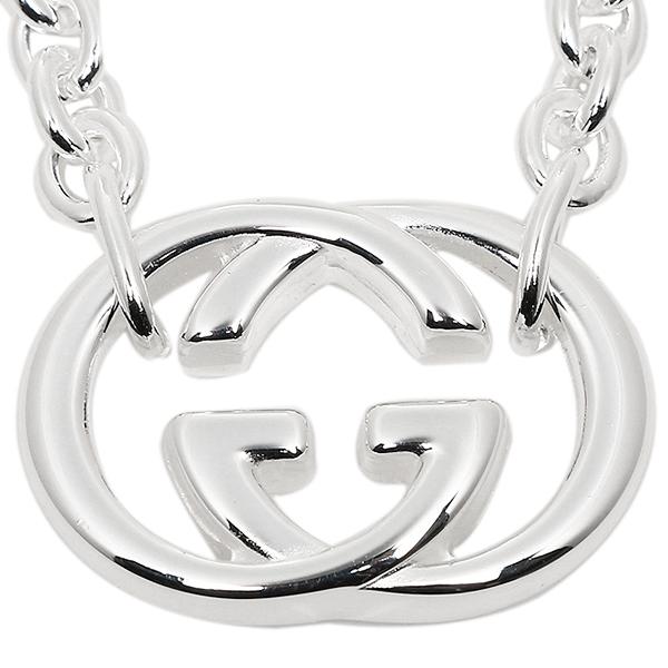 b22bf7d97c22 Gucci GUCCI necklace accessories GUCCI Gucci 190489 J8400 8106 silver  Bullitt necklace   pendant silver men   Lady s