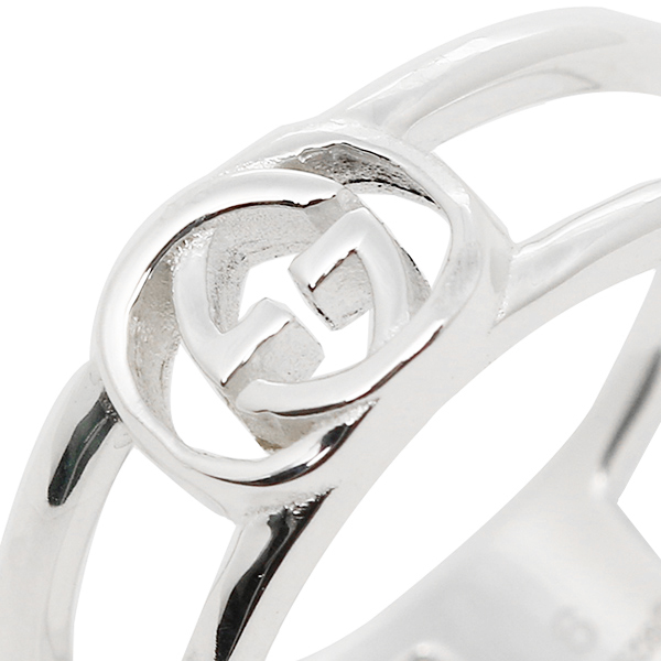 6e621c5786df64 ... Gucci GUCCI ring ring Gucci ring Lady's / men GUCCI 298036 J8400 8106  interlocking grip G ...