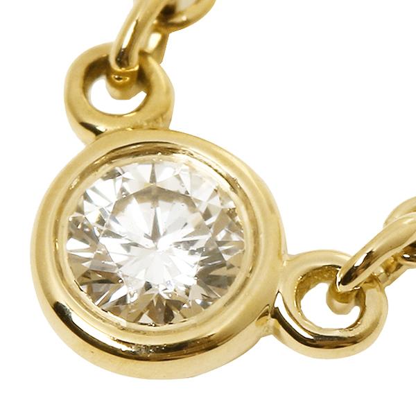 蒂芙尼項鍊蒂芙尼 & 有限公司 10769213 鑽石簽證院子 05 ct 16 18years 吊墜黃色金