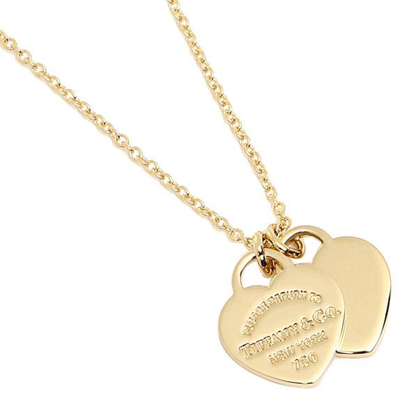 b8d1e3d8e Tiffany TIFFANY & Co. Necklace accessories Tiffany TIFFANY&Co.  22309277 double heart ...