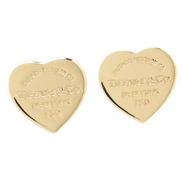 Tiffany Co Pierced Earrings 23900351 Tag Rtt Return Toe Heart Mini 18k Yellow Gold