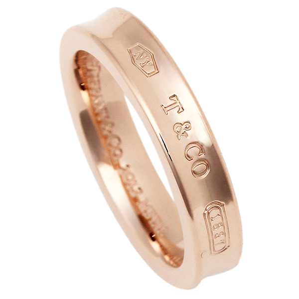 【9時間限定ポイント10倍】【返品OK】ティファニー リング アクセサリー TIFFANY&Co. 1837 ナローリング ルベド RUBEDO レディース 指輪 ローズゴールド