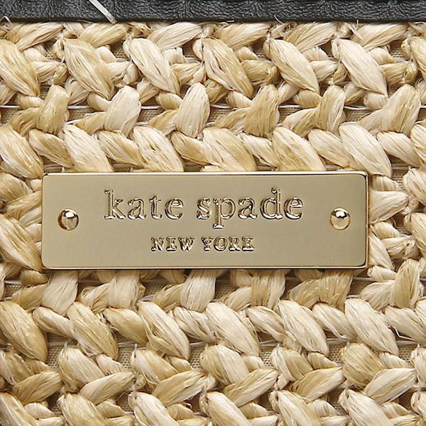 케이트스페이드밧그레디스 KATE SPADE PXRU5564 159 BELLE PLACE STRAW SUMMER 토트 백 NATURAL/BLACK