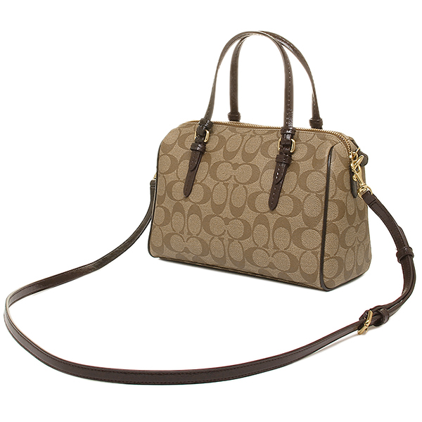 Coach COACH outlet bags coach COACH bag outlet F49862 BKHMA khaki / mahogany