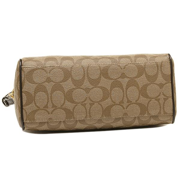 Coach COACH outlet bag coach COACH bag outlet F49862 BKHMA khaki / mahogany