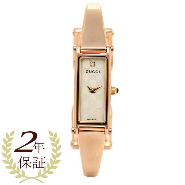 e4302a65463 Gucci GUCCI clock Lady s watch Gucci clock GUCCI 1500 series watch YA015560  watch white pearl   pink gold