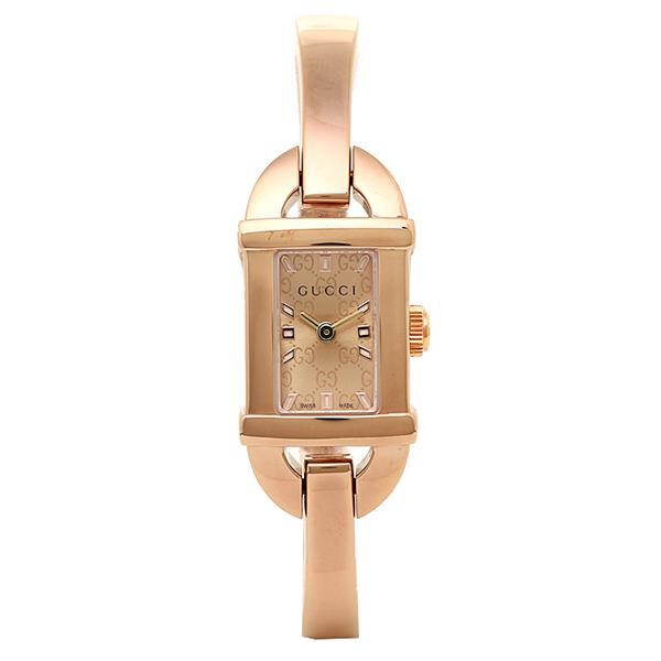 【4時間限定ポイント10倍】グッチ GUCCI 時計 レディース 腕時計 グッチ 時計 GUCCI 6800シリーズ YA068585 腕時計 ウォッチ コパー/ピンクゴールド