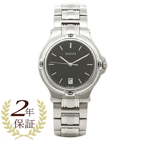 グッチ GUCCI 時計 腕時計 グッチ 時計 GUCCI 腕時計 YA090304 ブラック/シルバー メンズ/レディース 腕時計 ウォッチ