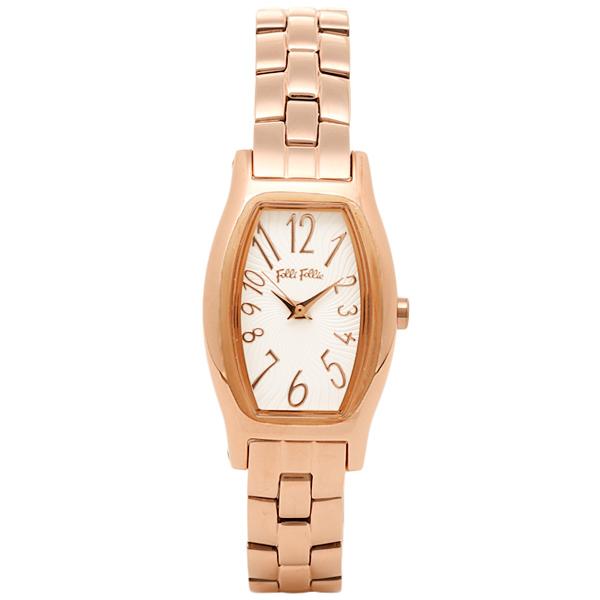 フォリフォリ FOLLI FOLLIE 時計 腕時計 フォリフォリ 時計 レディース FOLLI FOLLIE WF8R026BPS DEBUTANT デビュタント 腕時計 ウォッチ ホワイト/ゴールド