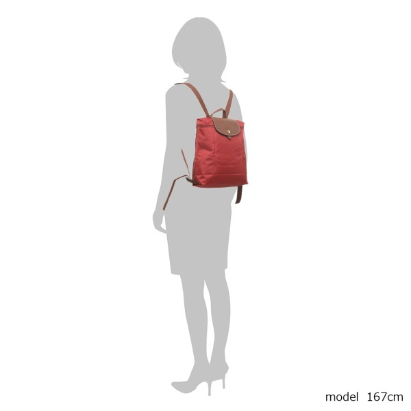 Longchamp Backpack Red