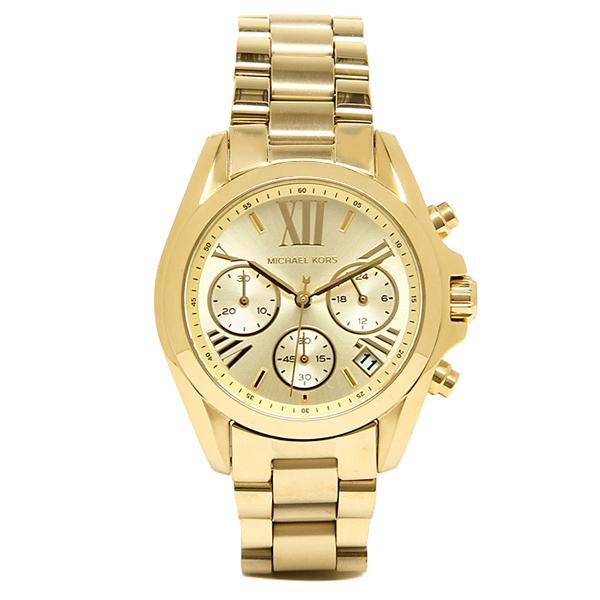 【4時間限定ポイント10倍】マイケルコース 時計 レディース MICHAEL KORS MK5798 MK5798710 BRADSHAW 腕時計 ウォッチ イエローゴールド