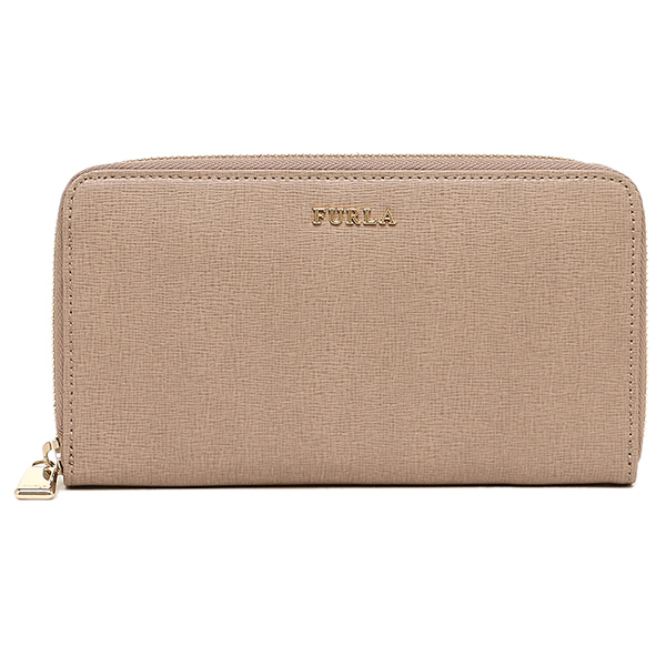 FURLA FURLA 791079 PN08 B30 NC1 BABYLON XL ZIP AROUND wallets purse NEW CARAMELLO