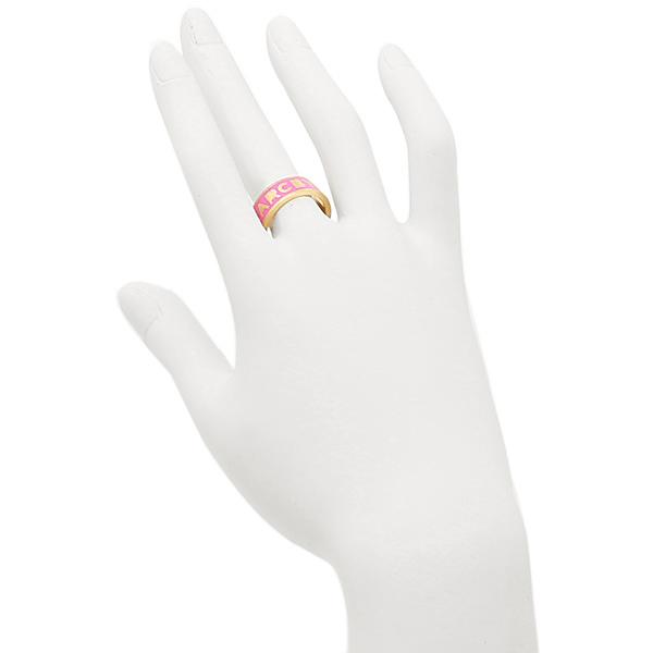 마크바이마크제이코브스링 MARC BY MARC JACOBS M0003560 676 LOGO BAND RING 반지 골드 핑크