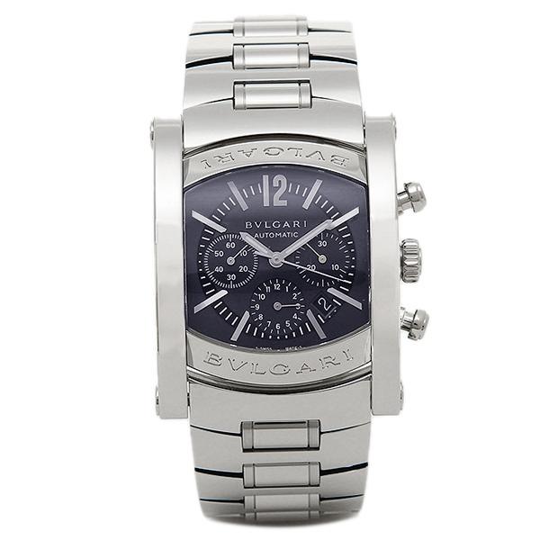 【4時間限定ポイント10倍】ブルガリ BVLGARI 時計 腕時計 メンズ BVLGARI ブルガリ アショーマ AA44C14SSDCH-O メンズウォッチ 腕時計 シリアル有