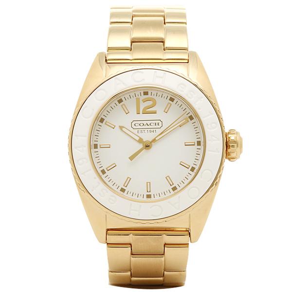 コーチ 時計 レディース COACH 腕時計 14501402 アンディー ホワイト/ゴールド ウォッチ