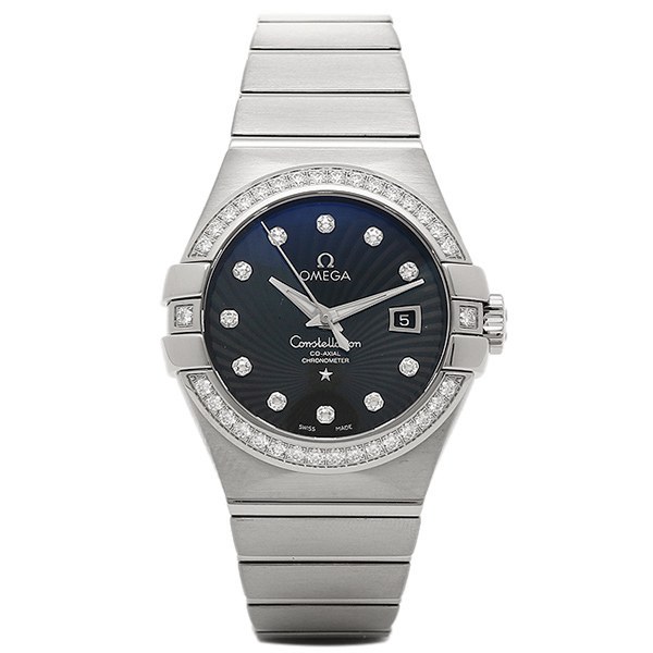 オメガ 時計 レディース OMEGA 123.55.31.20.51.001 コンステレーション 腕時計 ウォッチ シルバー/ブラック