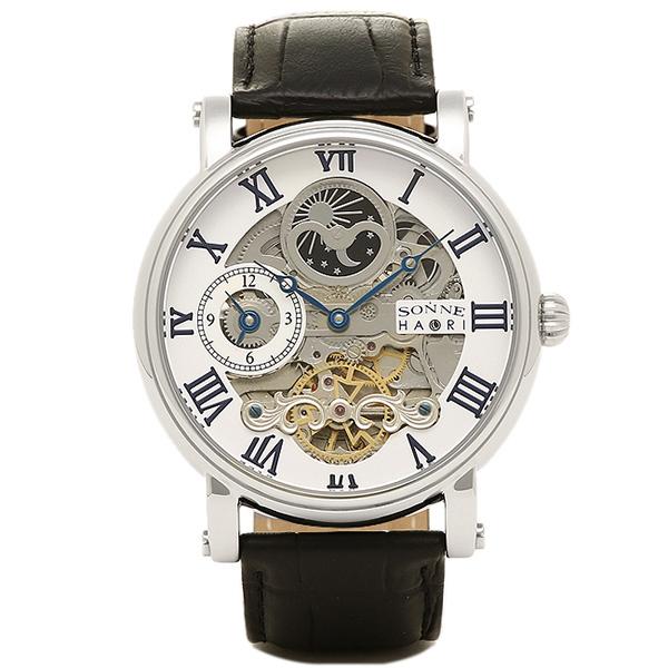 ゾンネ SONNE 時計 腕時計 メンズ ゾンネ 時計 メンズ 腕時計 SONNE H013SV ウォッチ シルバー シルバー