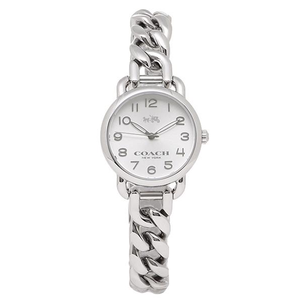 【4時間限定ポイント10倍】コーチ COACH 時計 レディース 腕時計 コーチ 時計 COACH 14502259 デランシー 腕時計 ウォッチ シルバー
