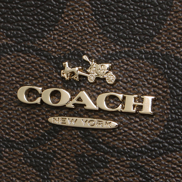 코치 토트 백 COACH F36126 IMAA8 브라운 블랙