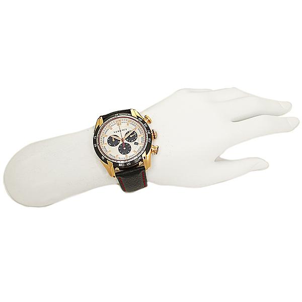 베르서치 시계 맨즈 VERSACE VDB040014 V-RAY 부이 레이 손목시계 워치 골드/레이디스