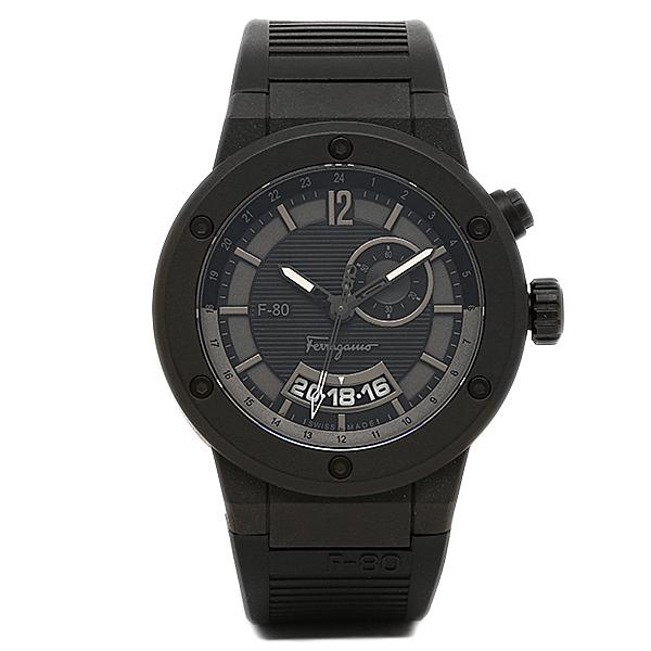 サルヴァトーレ フェラガモ Salvatore Ferragamo 時計 腕時計 メンズ サルヴァトーレフェラガモ 時計 メンズ Salvatore Ferragamo F55LGQ6877S113 F-80 腕時計 ウォッチ ブラック